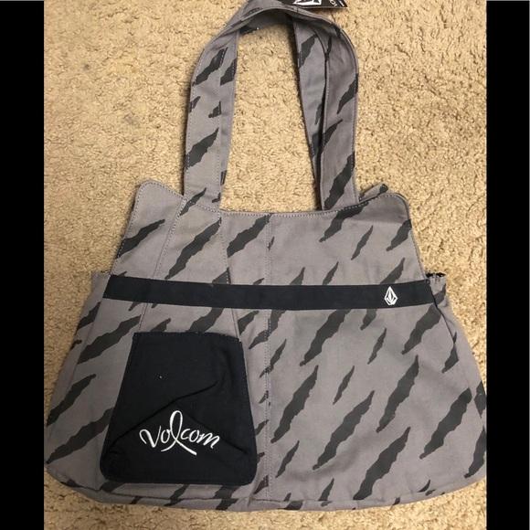 Volcom Handbags - Volcom tote bag charcoal